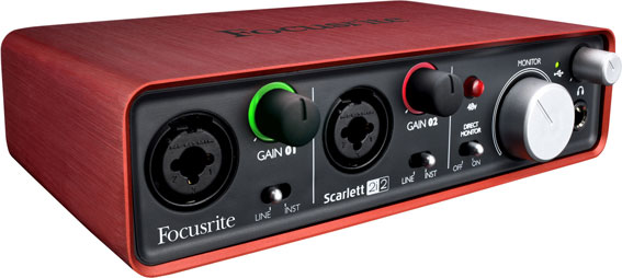 Interface Focusrite