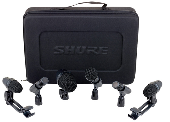 SHURE DRUM KIT (6 Teilig)