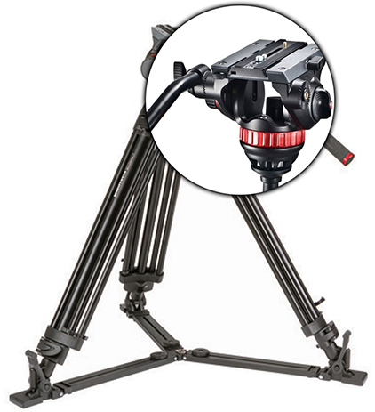 TREPIED VIDEO MANFROTTO 502