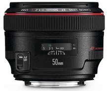 OBJECTIF CANON EF 50mm f/1.2L USM